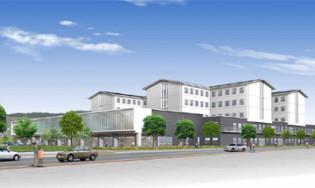 市立奈良病院(免震建築物)