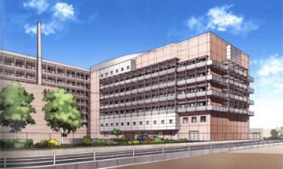 市立四日市病院(免震建築物)
