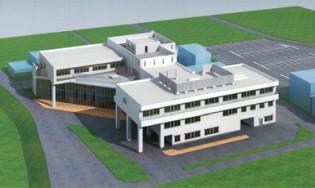 市立三野病院(制震構造)