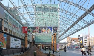 近鉄奈良駅前行基広場大屋根設置工事設計業務